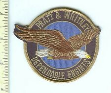 Military Patch US Military Pratt & Whitney Engine Mfg,