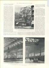 1901 Electric Overhead Luggage Lift Victoria Station Manchester Bluebell In Fair