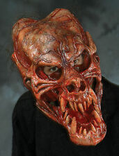 Bloody Demon Werewolf Skull Beast Latex Halloween Mask Moving Mouth