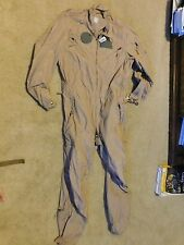 Army Tan Nomex CVC Combat Crewmen Coverall Size Medium - Long NWT
