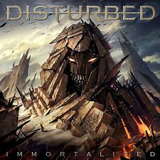 DISTURBED IMMORTALIZED CD - BRAND NEW & SEALED..FEAT. SOUND OF SILENCE
