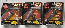 Star Wars Darth Maul Obi Wan Qui Gon Jinn Action Figures Hasbro Phantom Menace