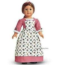 Pleasant Company 1992 American Girl FELICITYs SPRING GOWN, PINNER APRON & POMPOM