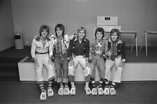 Bay City Rollers Pop Group Boy Band Glossy Poster Music Photo Print A4