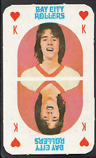 Monty Gum 1970's Gum Card - The Bay City Rollers Music Card - King of Hearts