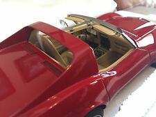1/18 Autoart 1970 Chevrolet Corvette Red Die Cast Car - Limited Edition - NEW!
