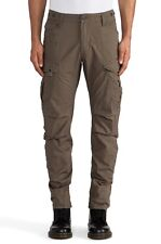 G-Star Raw Rovic 3D Loose Tapered Cargo Pants in Magma W38 /L34 $210 BNWT