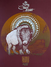 String Cheese Incident Concert Poster - David Hale - AP - Limited Edition
