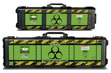 Decal 24mil Skin Accessories Wrap for Pelican 1720 Hard Gun Case Zombie Hunting