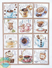 Cross Stitch Kit ~ Design Works Coffe Break Latte Assortment Sampler #DW2597