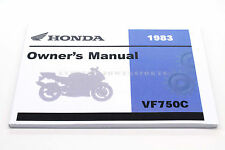 New Owners Manual 1983 VF750C VF750 MAGNA V45 OEM Honda Operators Book #i57