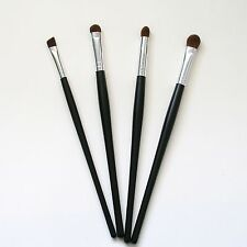4 Pcs Beautydec Pro Makeup Brush Set Kit Black Cosmetic Eye Make Up Brushes New