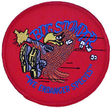 Alien Bug Stomper Shoulder Logo Iron-on/Sew-on Embroidered PATCH
