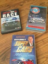 Rally cars + Games DVDs Super cars and Safari VHS Richard burns rally 9 titles
