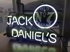 13''x7'' Jack Daniels Beer Bar Pub Neon Sign Light Clubs Wall Art Work Poster