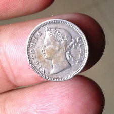 1900 Queen Victoria 5 cent Silver coin  Extra Great details! better coin OFFER!
