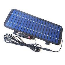 El panel solar / Smart Power 12V 4.5W cargador de batería para el coche la moto