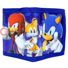 Sonic The Hedgehog Sonic Wallet Knuckles and Tails Trifold Kids Wallet