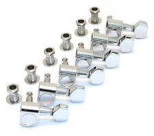 007-3867-000 6-Inline Fender Squier 2-Guide Artist Deluxe Chrome Guitar Tuners