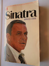 SINATRA BIOGRAPHY ARNOLD SHAW RETREAT OF THE ROMANTIC HODDER 1971 ROUGH & SMOOTH