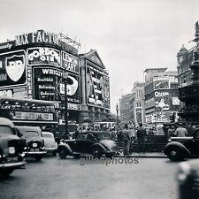 LONDRES c. 1950 - Picadilly Circus Royaume Uni - DIV 2578