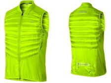 Nike Aeroloft 800 Men's Running Vest Goose Fill 800 Down Volt 548152 746 Sz XL