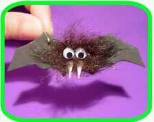 "Halloween Hairy Vampire  BAT ""Girl Scout"" SWAPS  Craft Kit  by Swaps4Less.com"