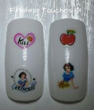 Nail Art Water Transfer- Disney Glitter Princess #381 SY1732 Sticker Snow White