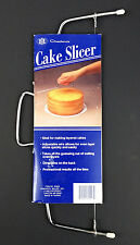 Chadwick Cake Slicer Vintage 1993 Adjustable Wire Cut Even Layers New on Card