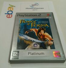 Prince of Persia:  Las Arenas del Tiempo PLAY STATION 2 (Platinum) PS2 PAL/ESP