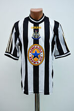 NEWCASTLE UNITED ENGLAND 1997/1998/1999 HOME FOOTBALL SHIRT JERSEY ADIDAS