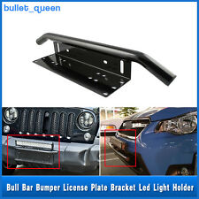 23'' Car Aluminum Bull Bar Working LED Light Mounting Bracket Holder Black