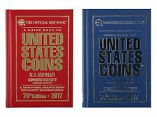 2017 Red Book Price Guide and 2017 Blue Book, Handbook of U.S. Coins, Hardbound