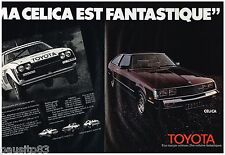 PUBLICITE ADVERTISING 095  1980  TOYOTA    CELICA ( p) J.L THERIER