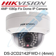 UK HIKVISION 4MP 4MM IP Camera 30m IR Night Vision ONVIF DS-2CD2142FWD-I