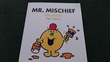 Mr. Mischief The Artist Large Size Book Roger Hargreaves