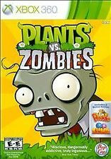 Plants vs. Zombies (Microsoft Xbox 360, 2010) GAME COMPLETE - PLATINUM HITS