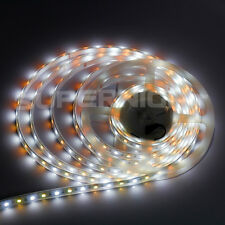 5M 5050 300 LED RGBW RGB + Warm/Cool White Light Strip Silicone IP67 Waterproof