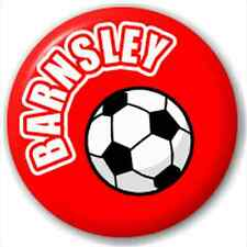 Barnsley Fc Football Supporter 25Mm Pin Button Badge Lapel Pin