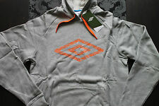 Umbro Men'S Hoodie Grey Orange or blue Size S, M or L new with tag