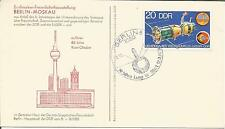 Germany  DDR   1980  Interkosmos  Berlin  Moscow Russia  Space Cosmology   Cover