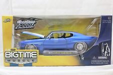 JADA BIGTIME MUSCLE 1971 CHEVROLET CHEVELLE BLUE 1/24 NEW IN BOX VERY RARE