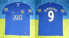 ●RARE BERBATOV MANCHESTER UNITED 2008/2009 THIRD JERSEY NIKE SIZE MEN ADULT XL ●