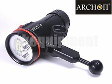Archon D37VP W43VP Cree XM-L2 U2 UV RED Diving Underwater Video Torch+Ball Arm