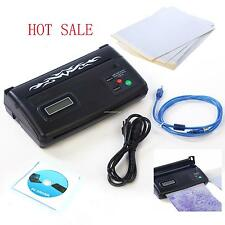 High Quality Black Tattoo Transfer Stencil Machine Thermal Copier Printer