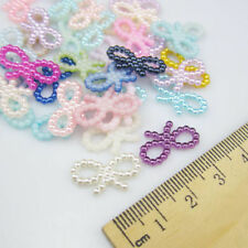DIY NEW 50pcs Resin bow-knot mix Scrapbooking For making phone crafts making 7