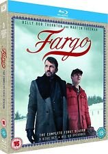 Fargo . The Complete Season One .  1. Staffel Billy Bob Thornton . 3 Blu-ray NEU