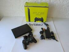 PLAYSTATION 2 SLIM console BLACK -boxed-