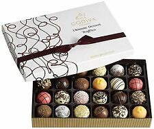 Godiva Chocolatier Ultimate Dessert Truffles Gift Box 24 Count