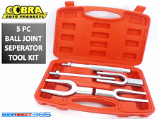 5pc Tie Rod Ball Joint Remover Kit Pitman Arm Splitter Separator Fork 15-44